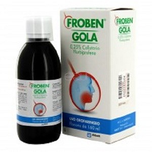 Froben gola 0 25 collutorio mal di denti for Farmaci per mal di orecchio